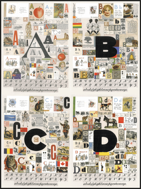 An Alphabet By Peter Blake paul stolper and Coriander Studio / 2007 Text Gavin Turk and Mel Gooding 2007  / Illustrations Peter Blake 2007