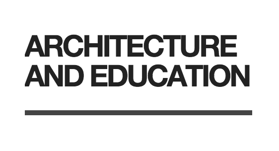 Architecture and Education