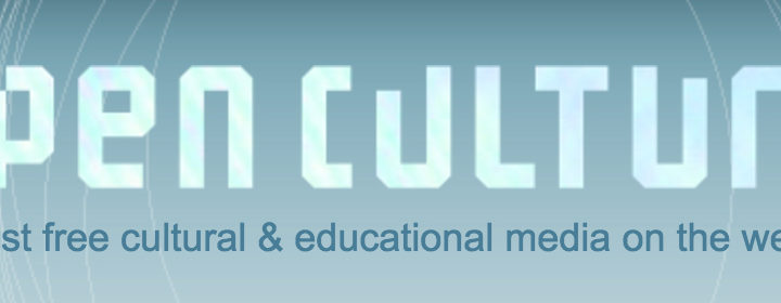 Open Culture – The best free cultural & educational media on the web